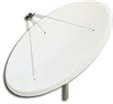 Picture of 2.7mtr. dish installed - Sky Satellite System